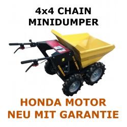 Minidumper Radlader 4x4