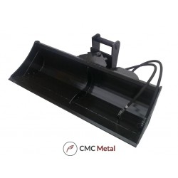 Hydraulischer Grabenräumlöffel Baggerlöffel Minibagger Hardox Neu Modell