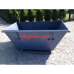 Absetzcontainer Absetzmulde Mulde Container Multicar 1,5 m3