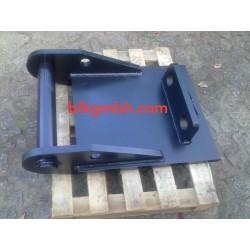 Anschweißlatte MS10 SW10 Adapterrahmen Adaperplatte Schnellwechsler Platte