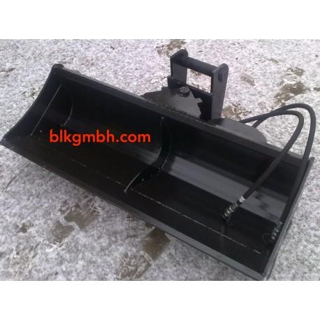 Hydraulischer  Schaufel - verschiedene Größen, Grabenräumlöffel, Minibagger, Baggerlöffel